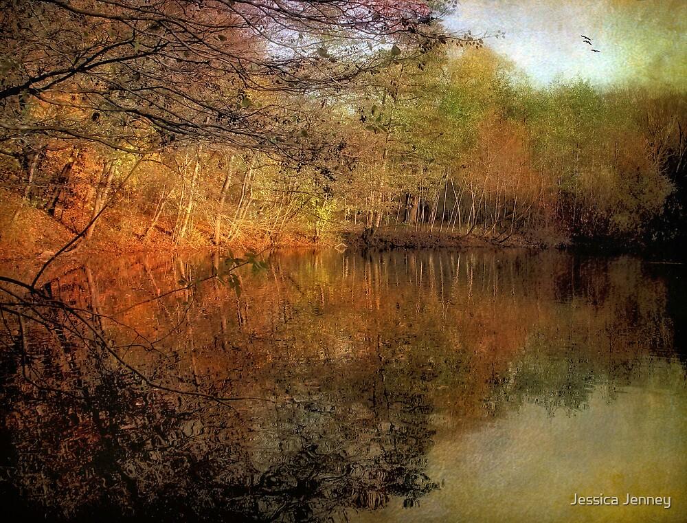 Painterly Pond by Jessica Jenney