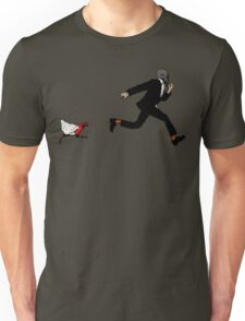 Leroy Having To Deal With The Unexpected Return Of That Dreaded No Good Evil Zombie Chicken Unisex T-Shirt