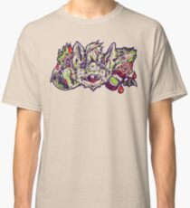 Vampire Bat - Green&Red Classic T-Shirt