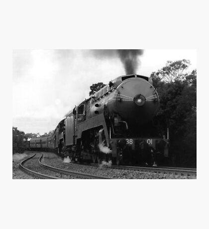 Historic 3801 Train Photographic Print