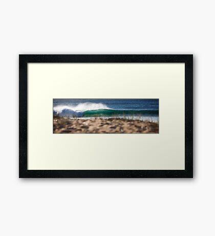 Swell Lines Framed Print