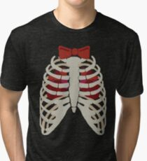 Time Lord have Two Hearts Tri-blend T-Shirt