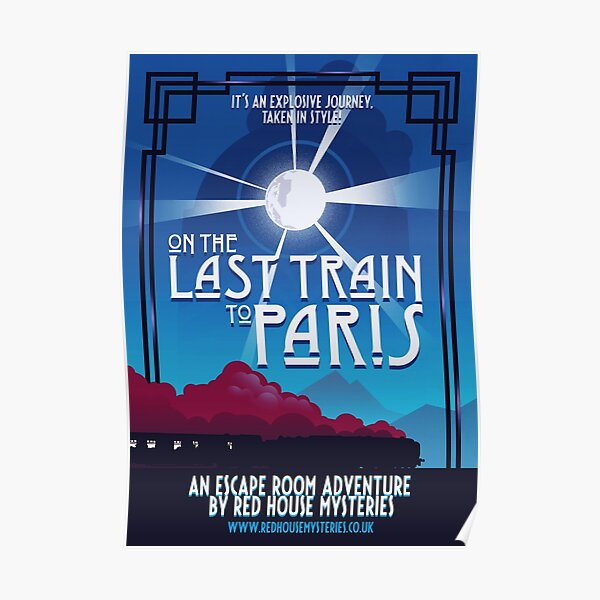 On the Last Train to Paris Poster