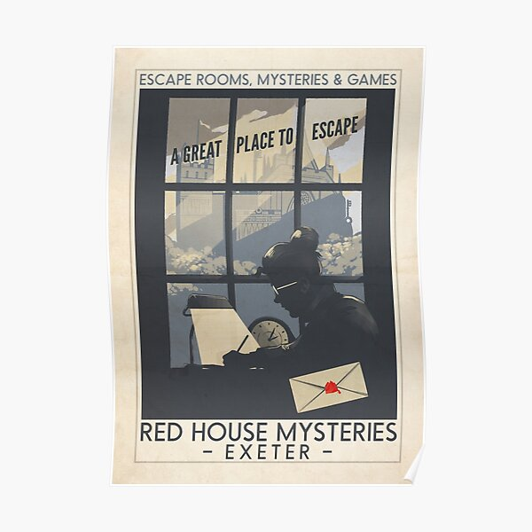 Red House Mysteries Exeter Poster