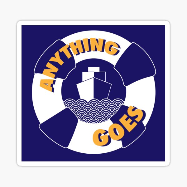 FYP Anything Goes Sticker Sticker