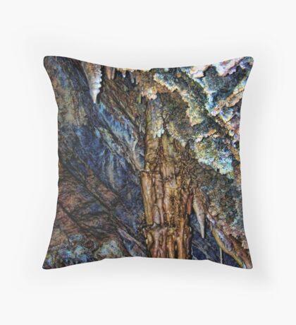 Lewis & Clark Caverns 1 (Montana, USA) Throw Pillow