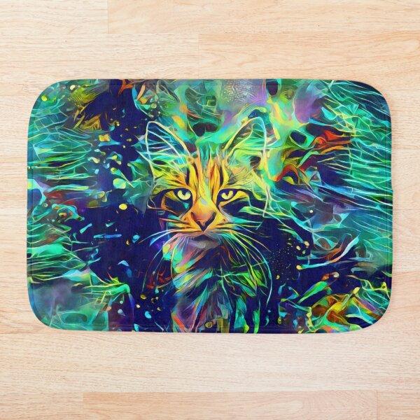 Deep Style Cat Bath Mat