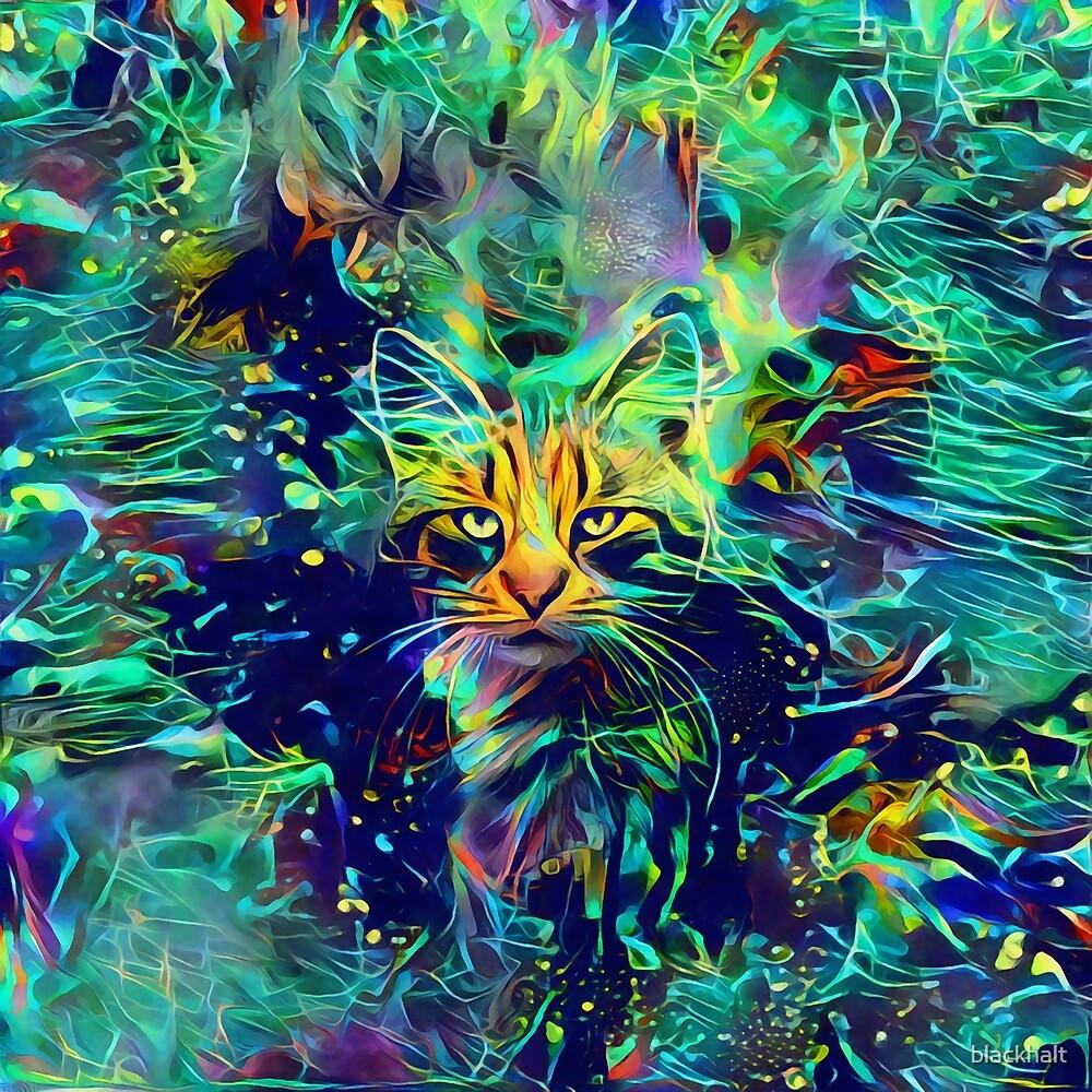 Deep Style Cat by blackhalt