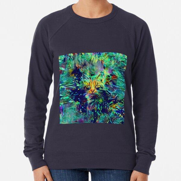 Deep Style Cat Lightweight Sweatshirt
