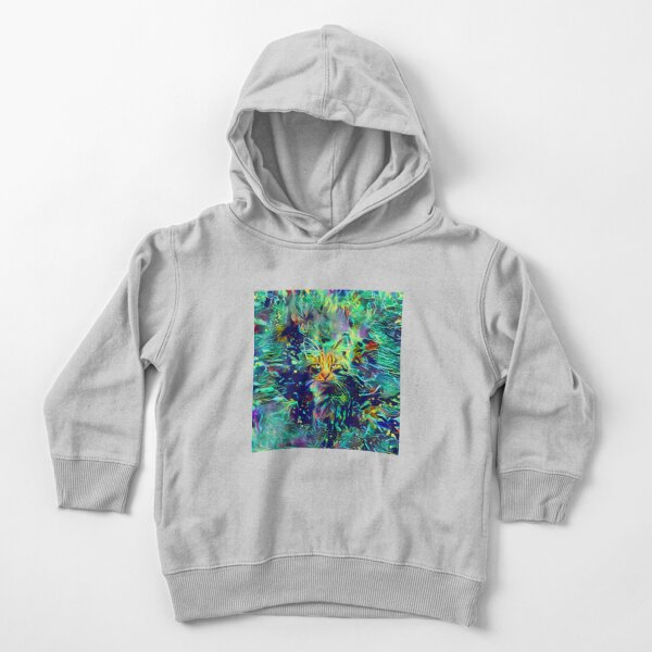 Deep Style Cat Toddler Pullover Hoodie
