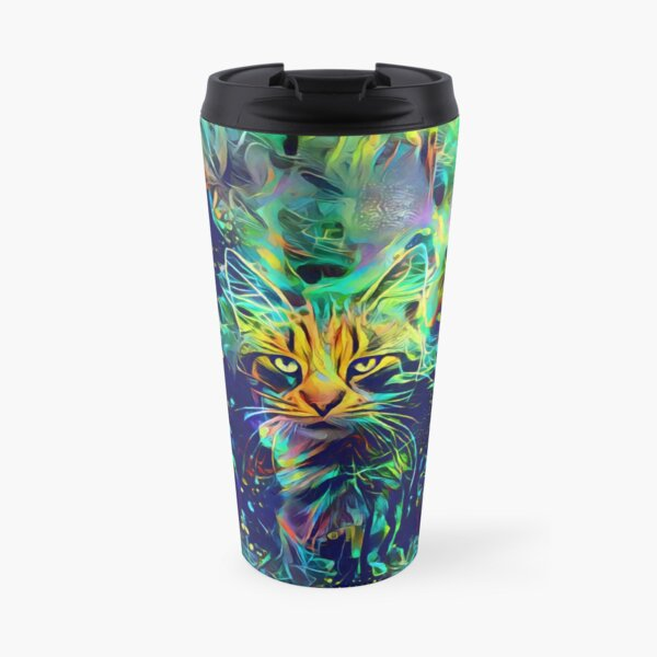 Deep Style Cat Travel Mug