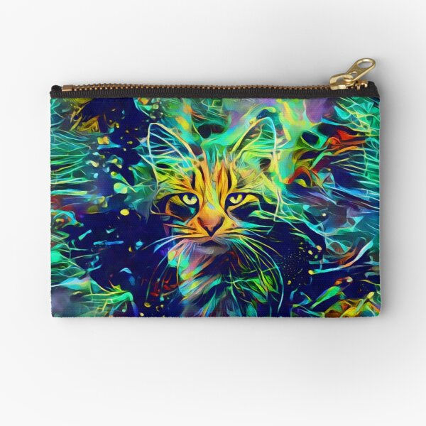 Deep Style Cat Zipper Pouch