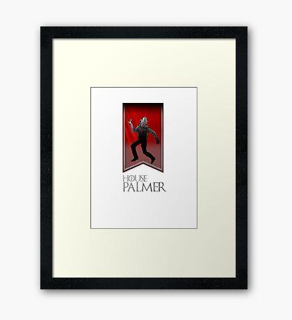 House Palmer Framed Print
