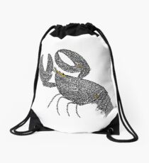 Unravelled Drawstring Bag