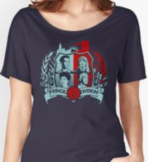 Fringe Division Crest  Women's Relaxed Fit T-Shirt