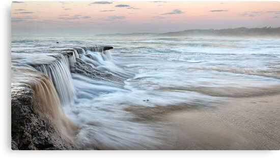 Ocean Waterfall by Annette Blattman