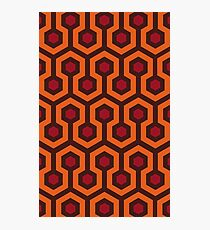 Overlook Hotel Carpet (The Shining)  Photographic Print