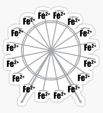 Ferrous Wheel Sticker