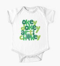 Okey Dokey Artichokey One Piece - Short Sleeve