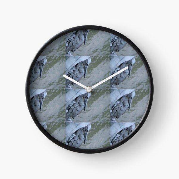 Architectural Detail: Bird Sculpture On Bridge Clock