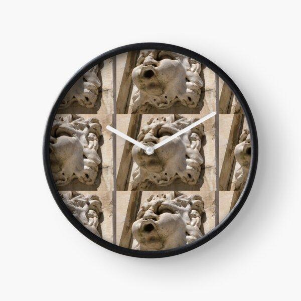Stone Gargoyle Clock