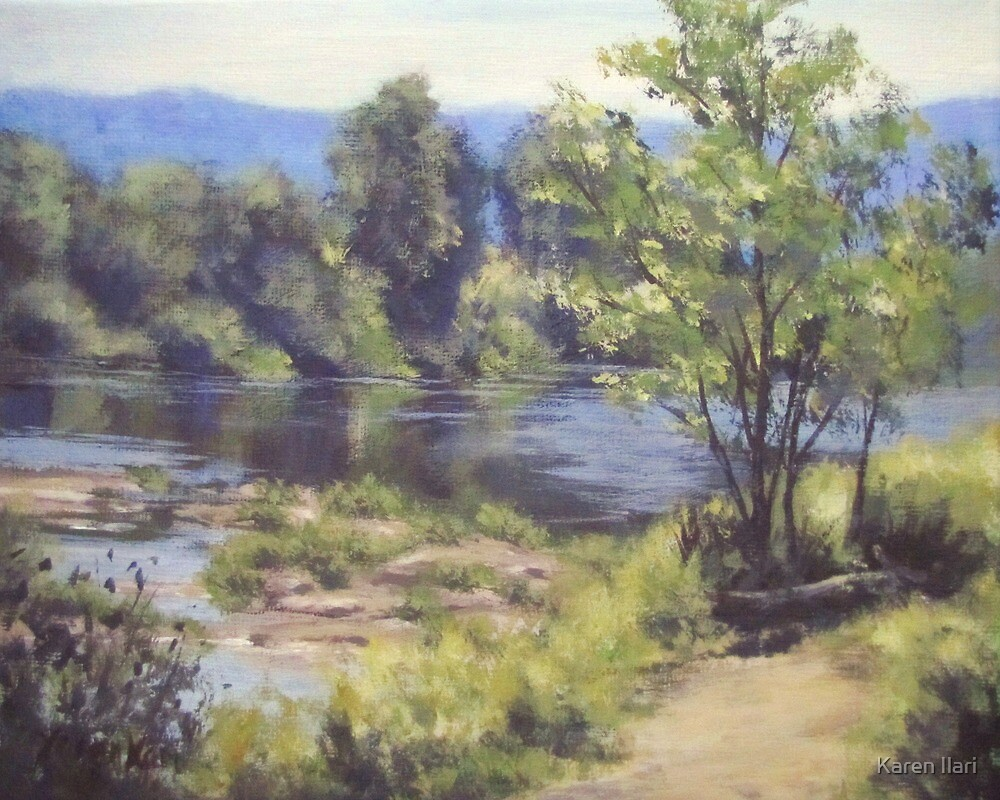 Summer South Umpqua by Karen Ilari