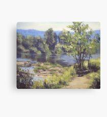 Summer South Umpqua Canvas Print