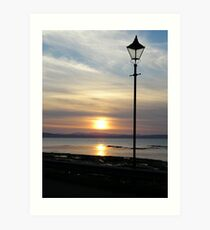 Nairn Sunset Art Print