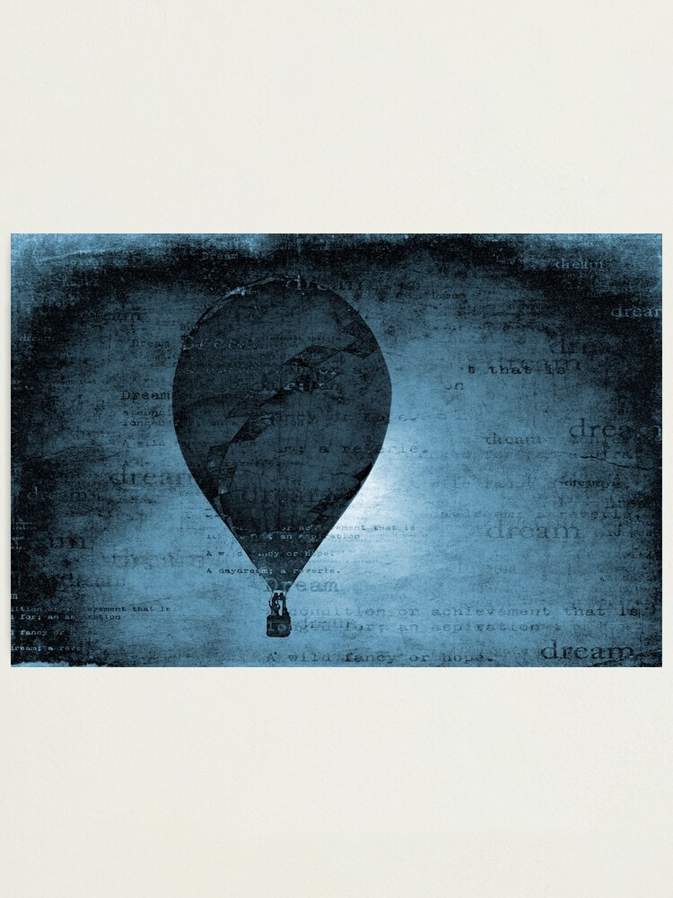 Alternate view of Flying in a Blue Dream Photographic Print