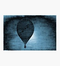 Flying in a Blue Dream Photographic Print