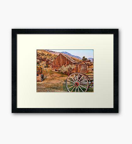 Bannack, Montana (USA) Framed Print
