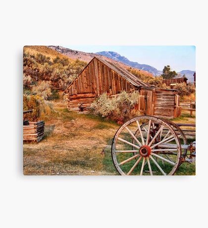 Bannack, Montana (USA) Canvas Print