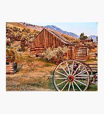 Bannack, Montana (USA) Photographic Print