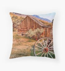 Bannack, Montana (USA) Throw Pillow