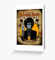 Halloween Saints: Billy Butcherson Greeting Card