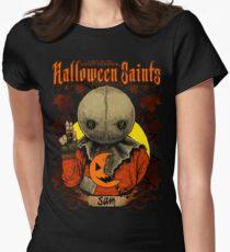 Halloween Saints: Sam Women's Fitted T-Shirt