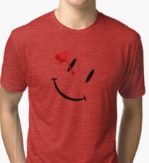 Watchmen bloody smiley  Tri-blend T-Shirt