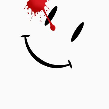 Watchmen bloody smiley  by ZinkLTD