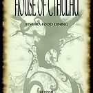 The House of Cthulhu ~ Menu Front by Rayvn Navarro