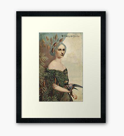 Pflanzenthiere Framed Print