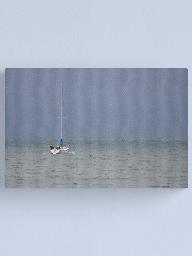 Alternate view of Sail Boat Canvas Print
