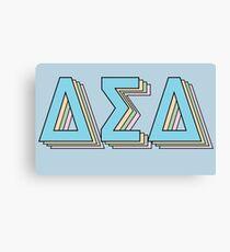 Delta Sigma Delta Layers Canvas Print