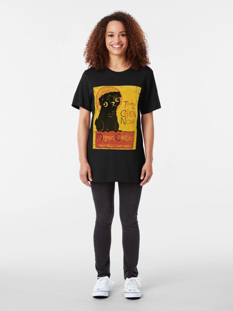 Alternate view of Le Chien Noir Slim Fit T-Shirt