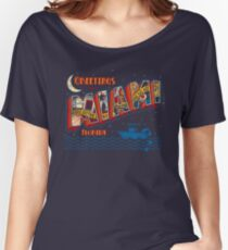 Greetings from Miami Women's Relaxed Fit T-Shirt