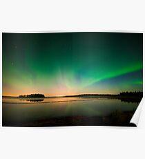 Northern Lights - Elk Island National Park (Edmonton, AB Canada) Poster