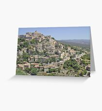Village of Gordes, Provence Greeting Card