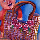 Child's bag and doll  by MIchelle Thompson