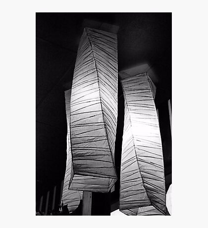 Paper Lampshades Photographic Print