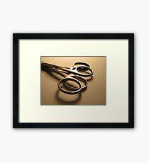 Scissors Framed Print