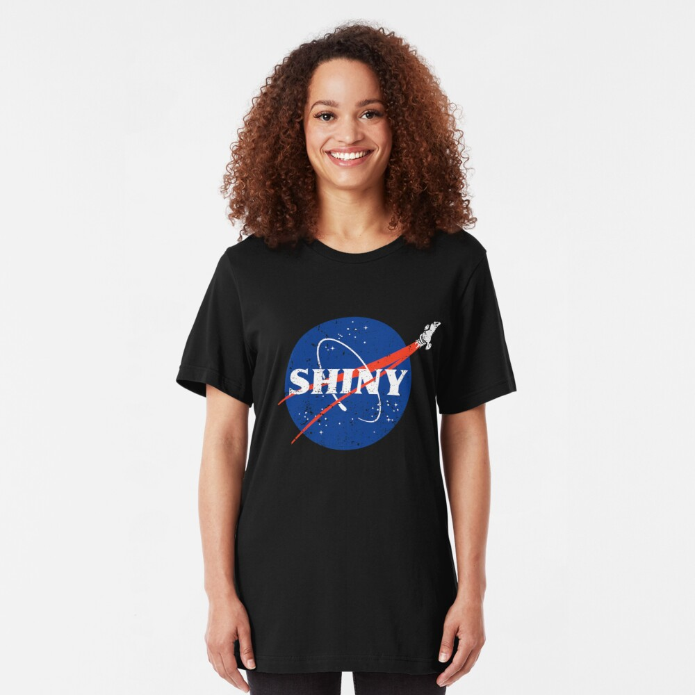 Shiny Slim Fit T-Shirt